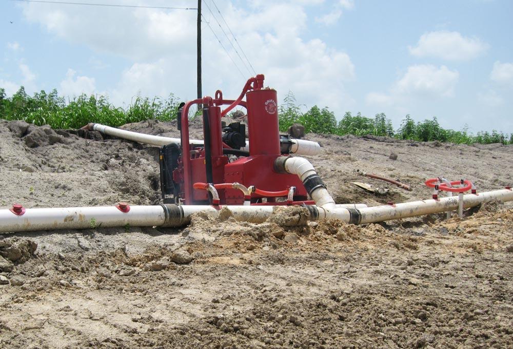 wellpoint construction dewatering pump