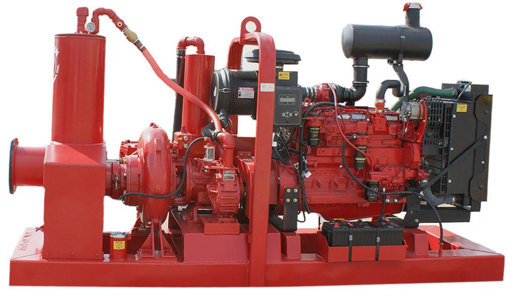non-clog dewatering pump