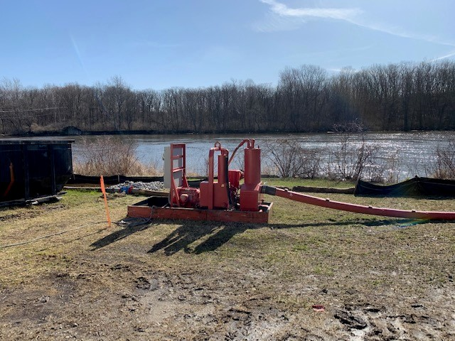 monticello dewatering project